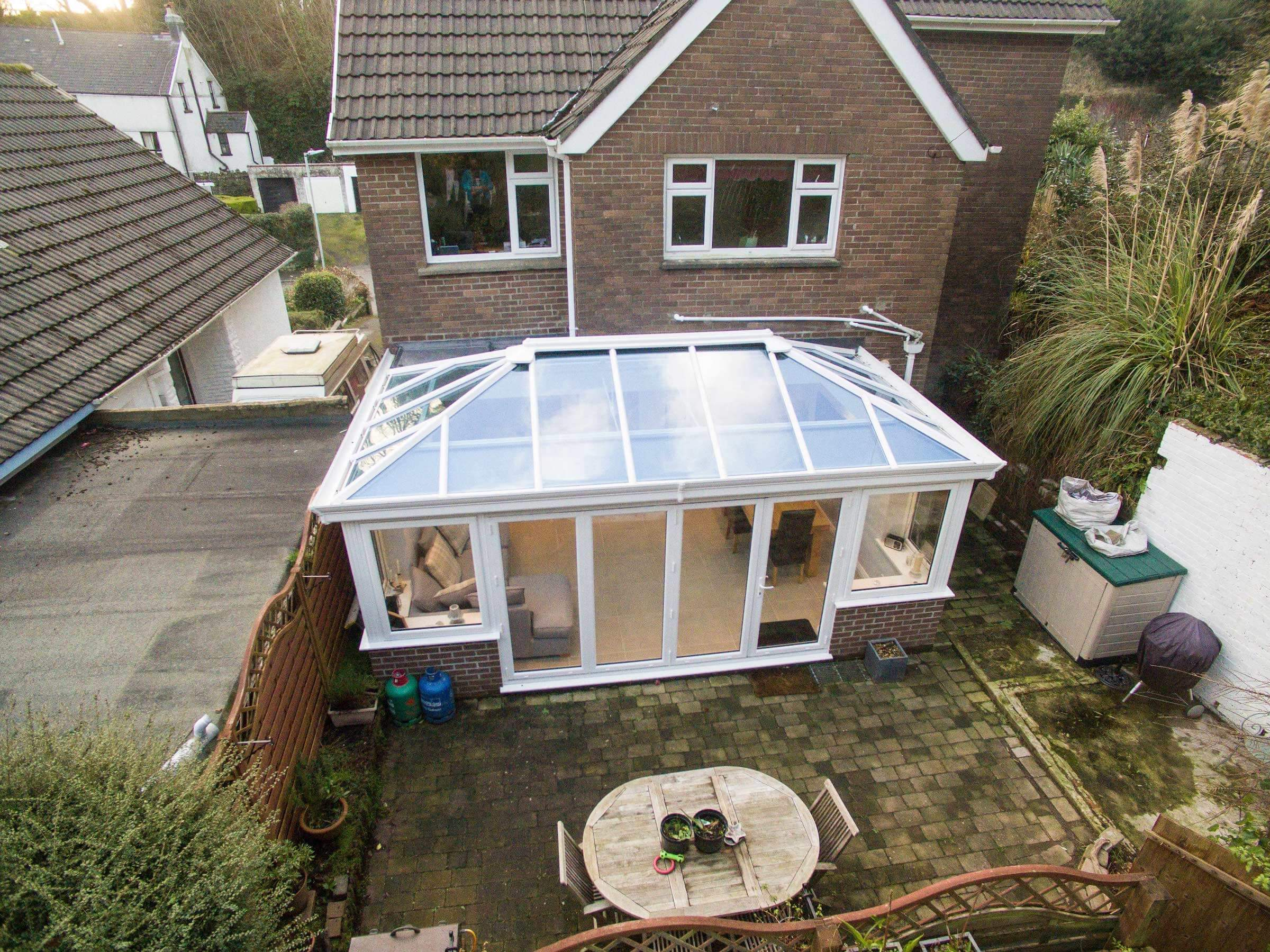 Glass Conservatory Roofs Manchester Cheshire Prices