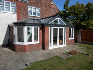 solid roof bespoke conservatory