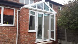 Extension with Glass Roof, Manchester