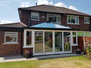 Extension with Solid Roof, Manchester