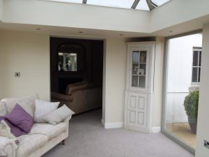 Internal View - Ultrasky Extension with Insulated Pelmets