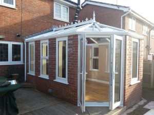 Orangery Extension with Glass Roof, Atherton