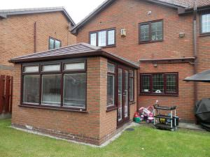 Brick Extension with Tiled Roof