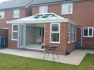 Traditional Orangery with Lantern Roof